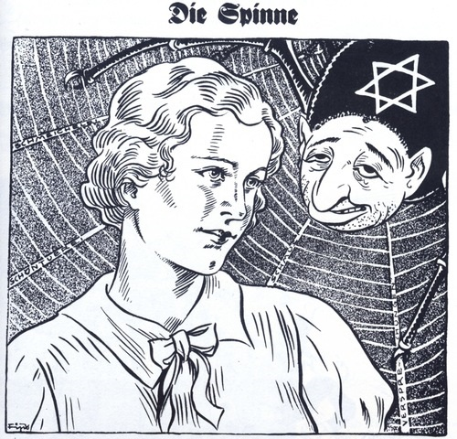 Anti-Semtic-cartoon