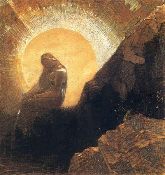 50d8027f3d0db86f394c122b153e9b24--odilon-redon-yellow-art