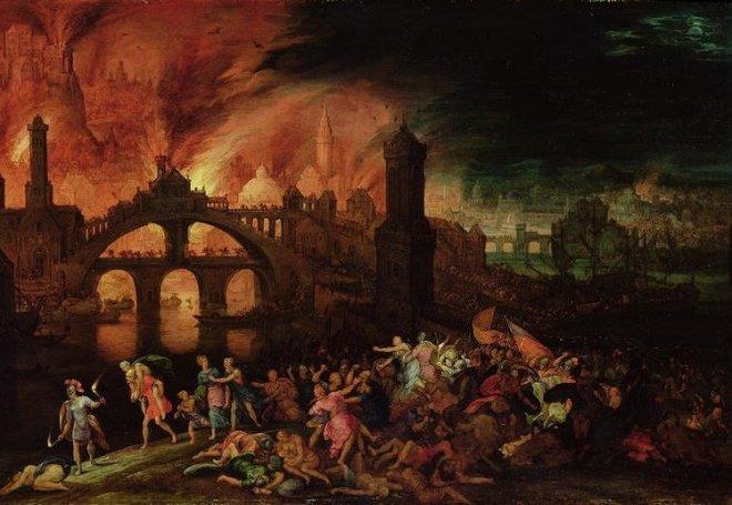 The-Destruction-Of-Troy,-1606