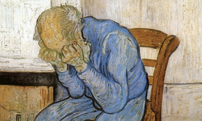 van Gogh Sorrowing Old Man