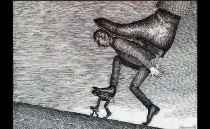 Internalizirani autoritarni glas, naučena bespomoćnost i slastropstva